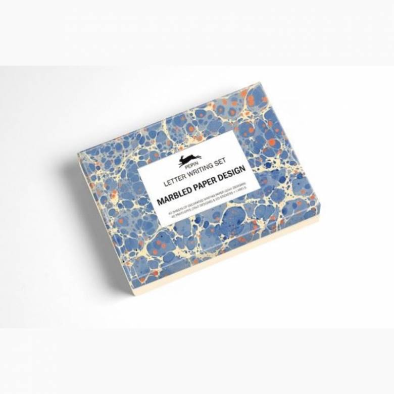 Marbled Paper Letter Writing Set