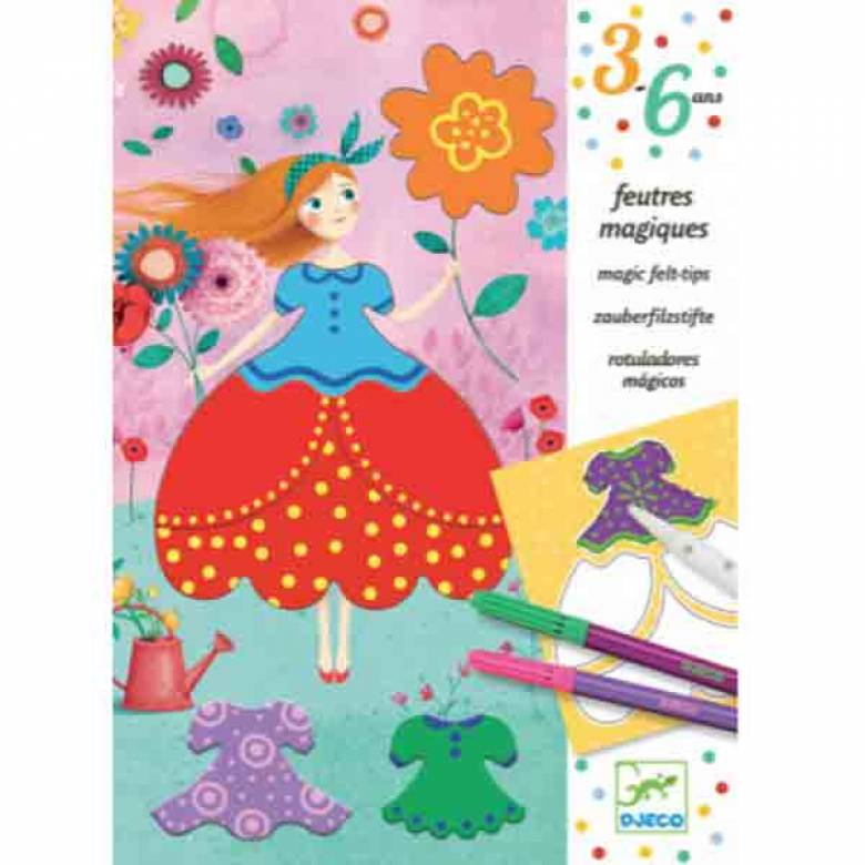 Maries Pretty Dresses By Djeco Kit 3-6yrs