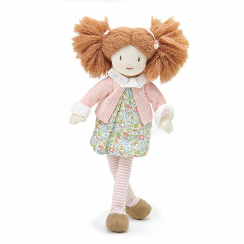 Marty Floral Rag Doll Toy 3+