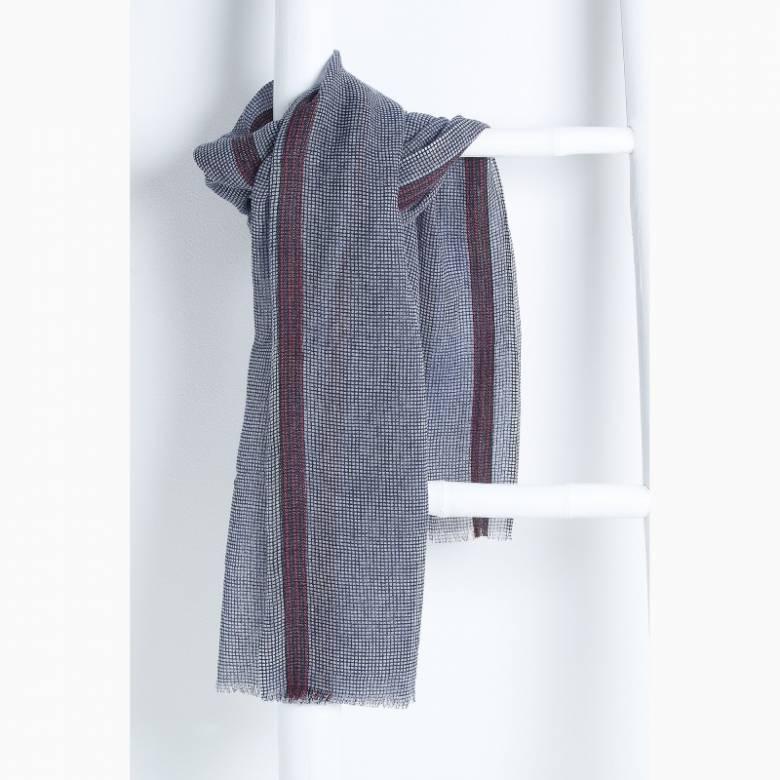 Max Fine Wool Scarf By Jo Edwards