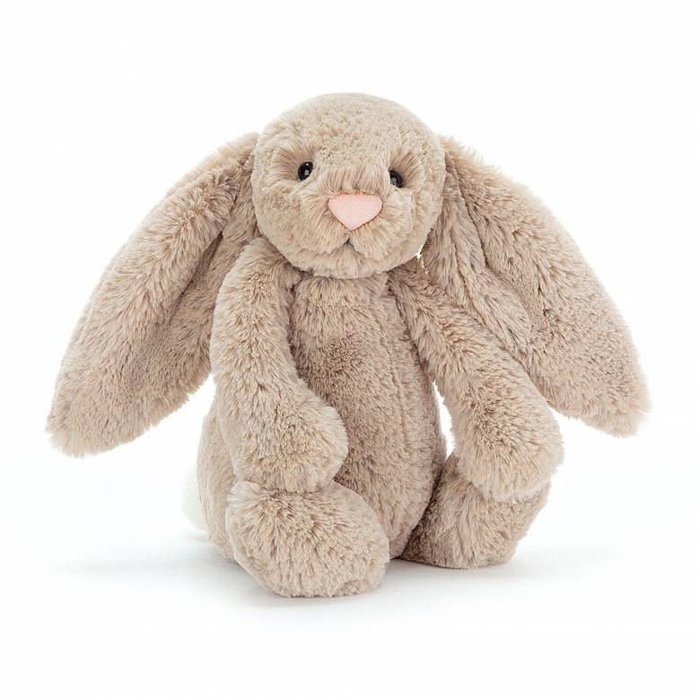 Medium Bashful Bunny In Beige Soft Toy By Jellycat