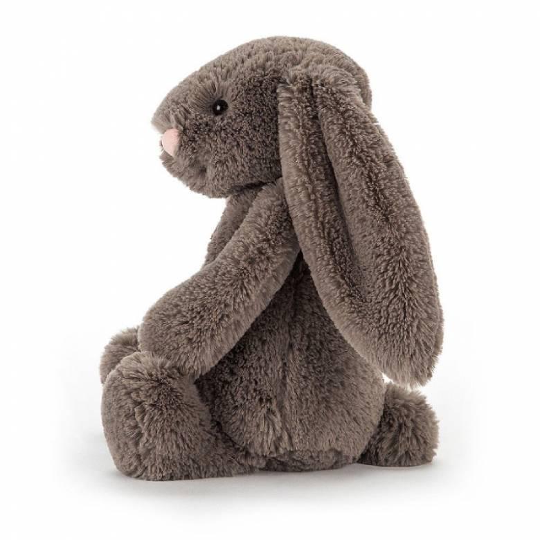 Medium Bashful Bunny In Truffle Soft Toy By Jellycat