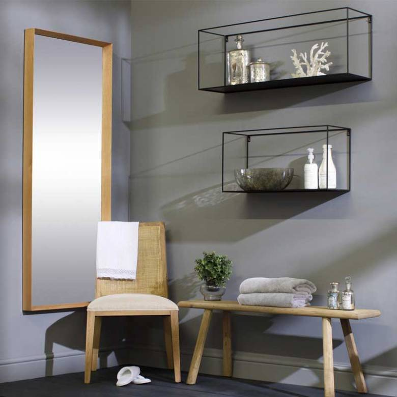 Meert Long Rectangular Wall Shelf XXL 100cm