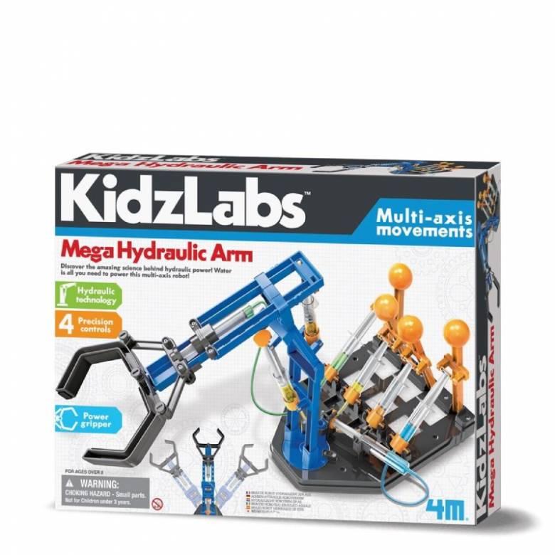 Mega Hydraulic Arm - Kidzlabs Science Kit 8+