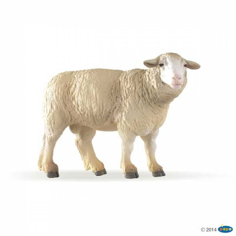 Merinos Sheep Family PAPO FARM ANIMAL