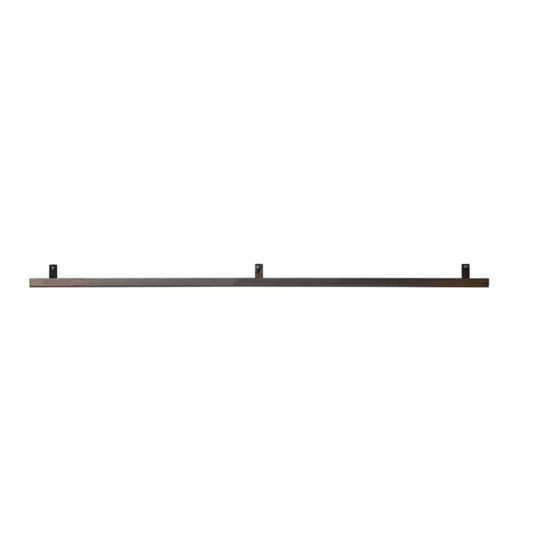 Long Metal Book Shelf Rail 120cm