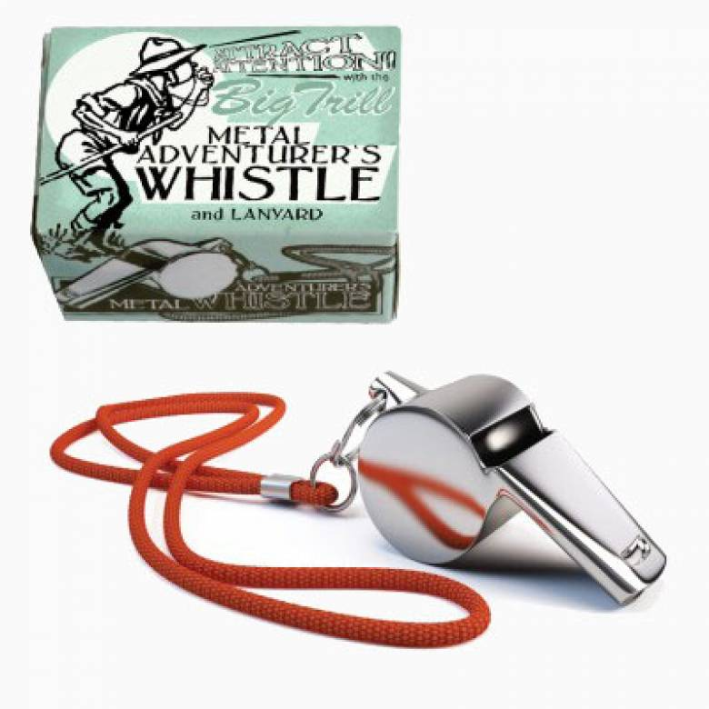 Adventurer's Big Trill Metal Whistle