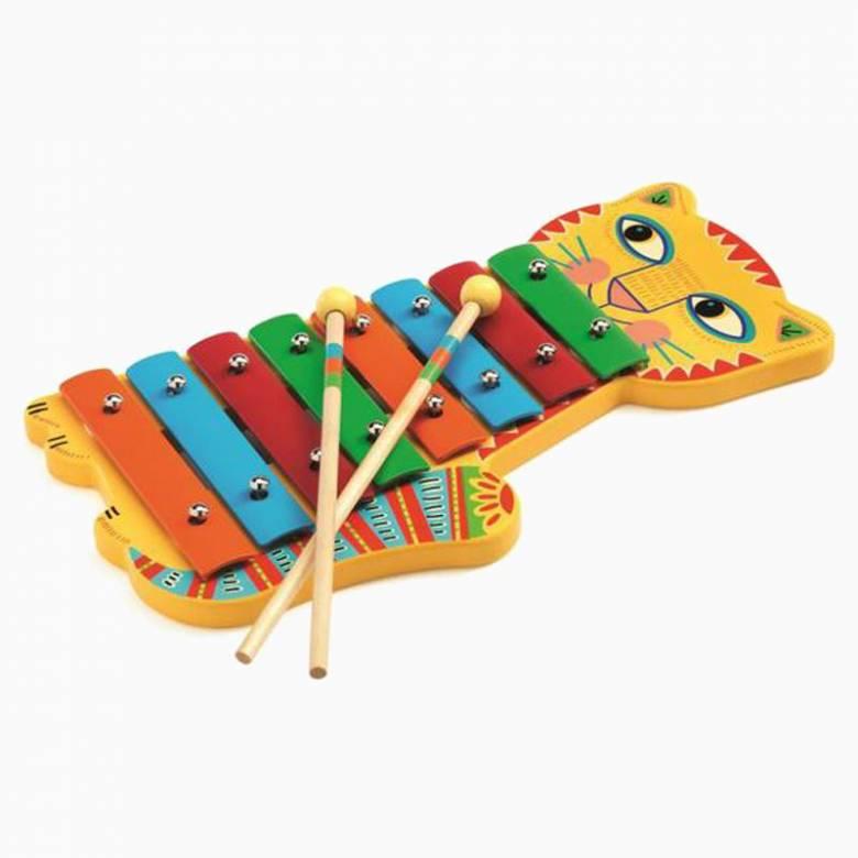 Animambo Metallophone Xylophone By Djeco 3+