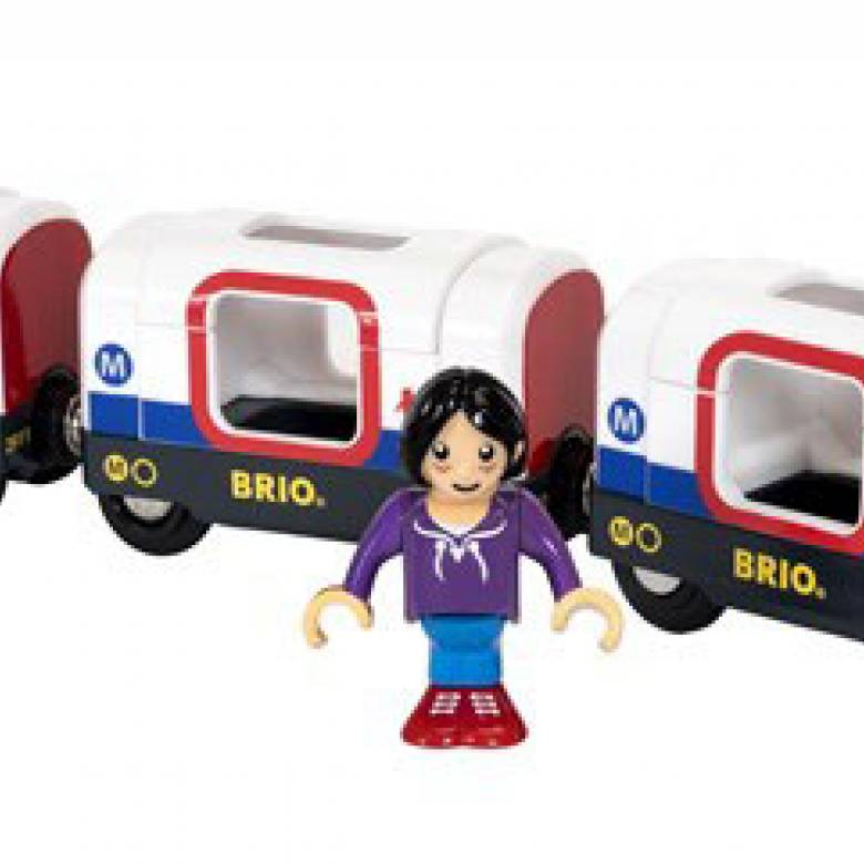 Metro Train BRIO® Wooden Railway Age 3+