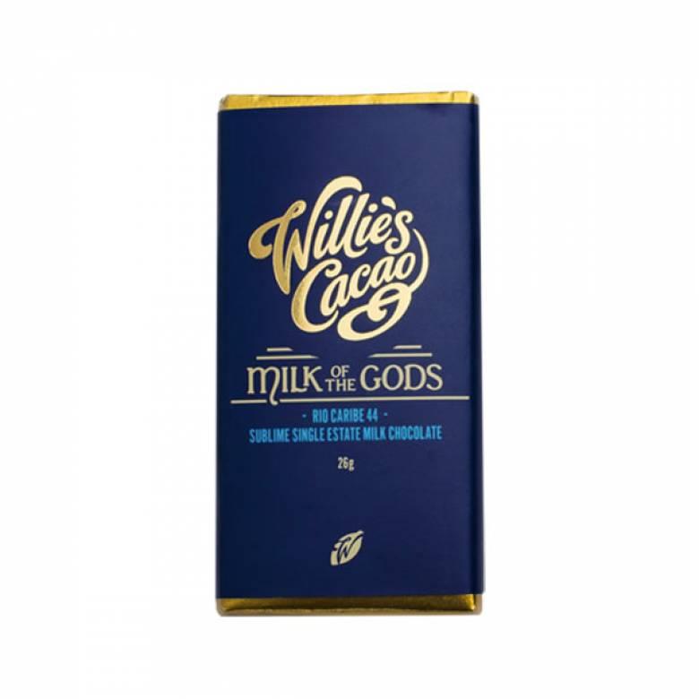Milk Of The Gods Milk Chocolate 26g Willie's Cacao