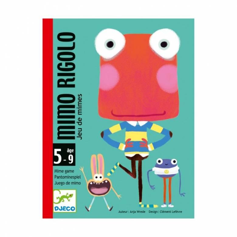 Mimo Rigolo Card Game By Djeco 5+