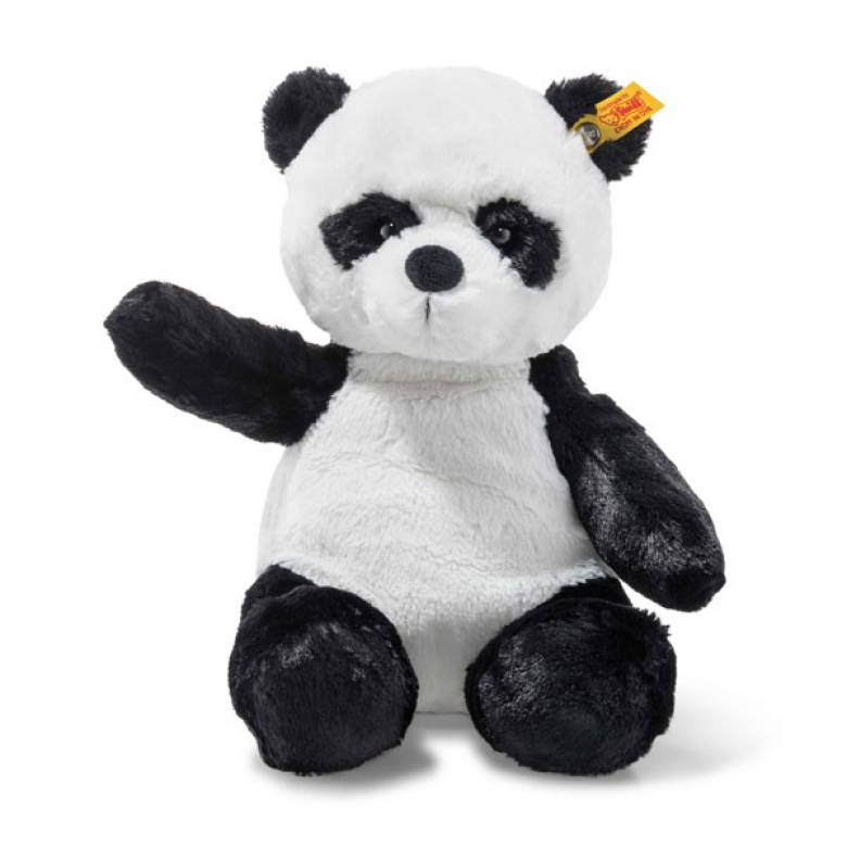 Ming The Panda Teddy Bear Soft Toy 28cm By Steiff