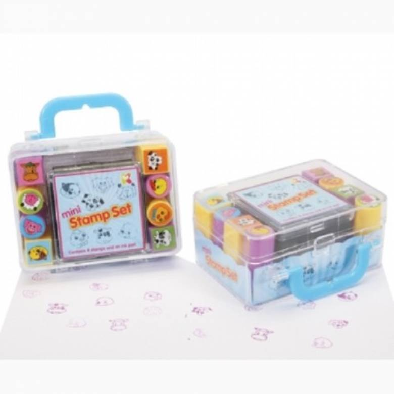 Mini Animal Stamp Set 3+