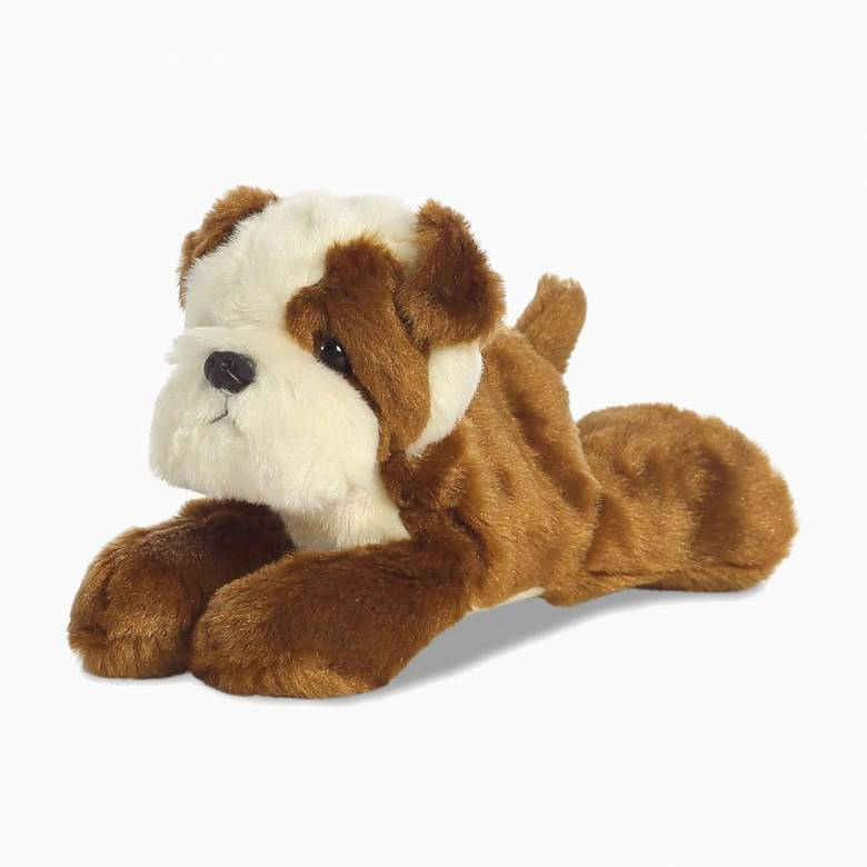 Bulldog Dog Mini Soft Toy 0+
