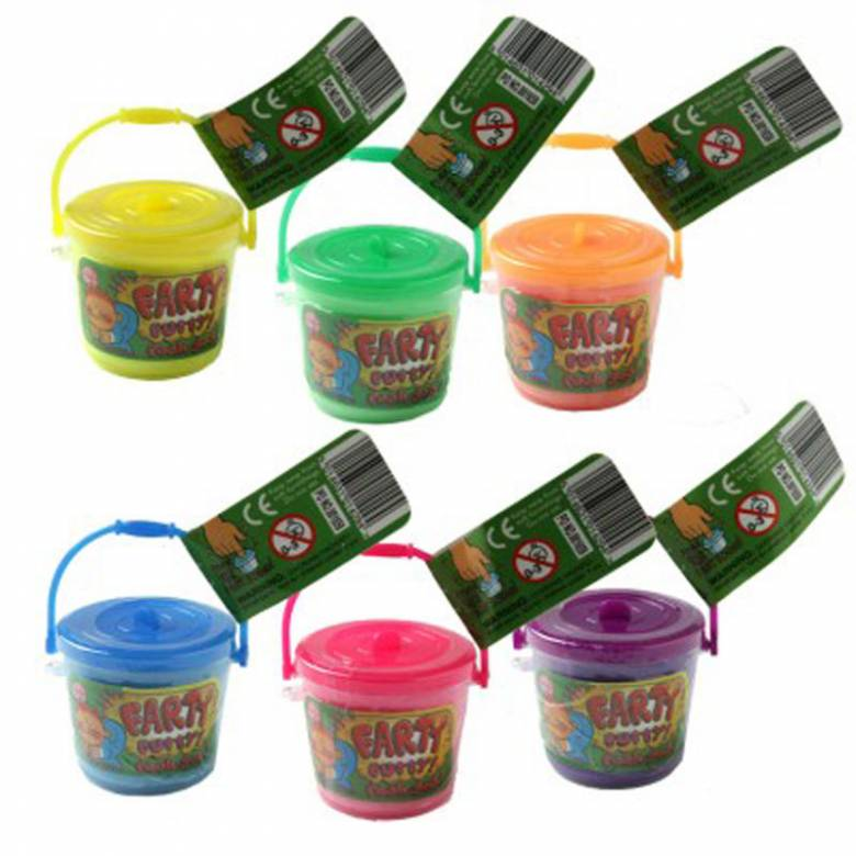 Mini Fart Putty In Little Bucket