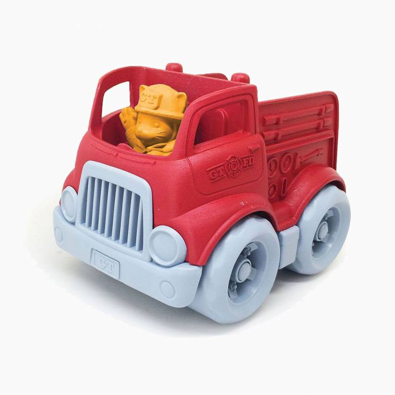 Small Fire Engine By Green Toys - Recycled Plastic 2+