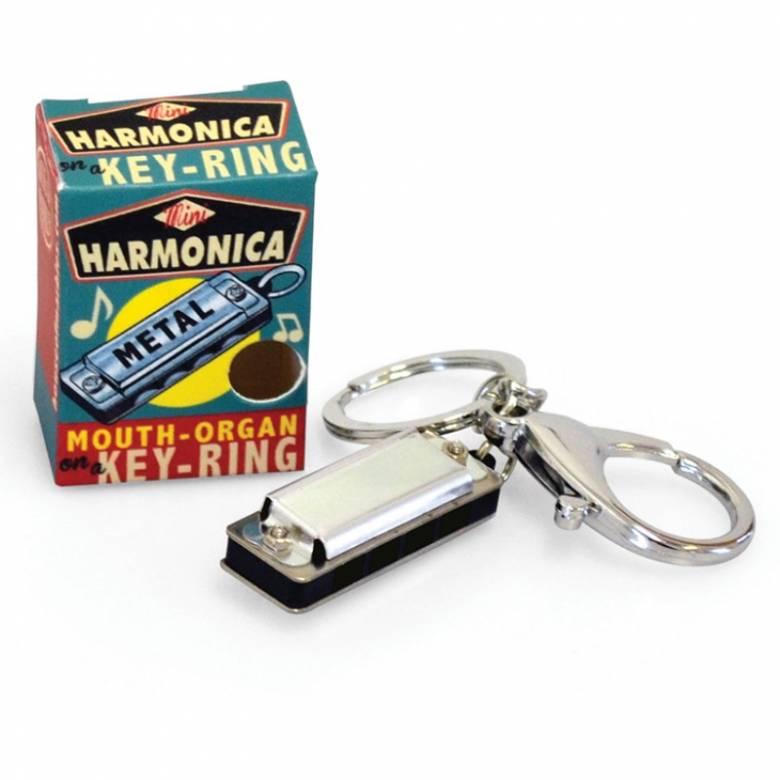 Mini Harmonica Keyring