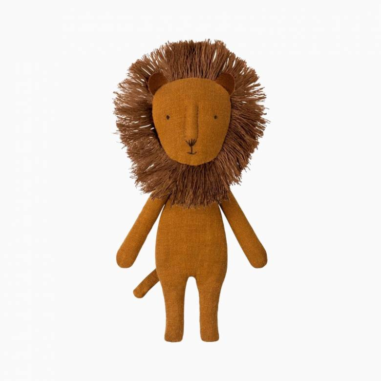 Mini Lion Soft Toy Noah's Friends By Maileg 0+