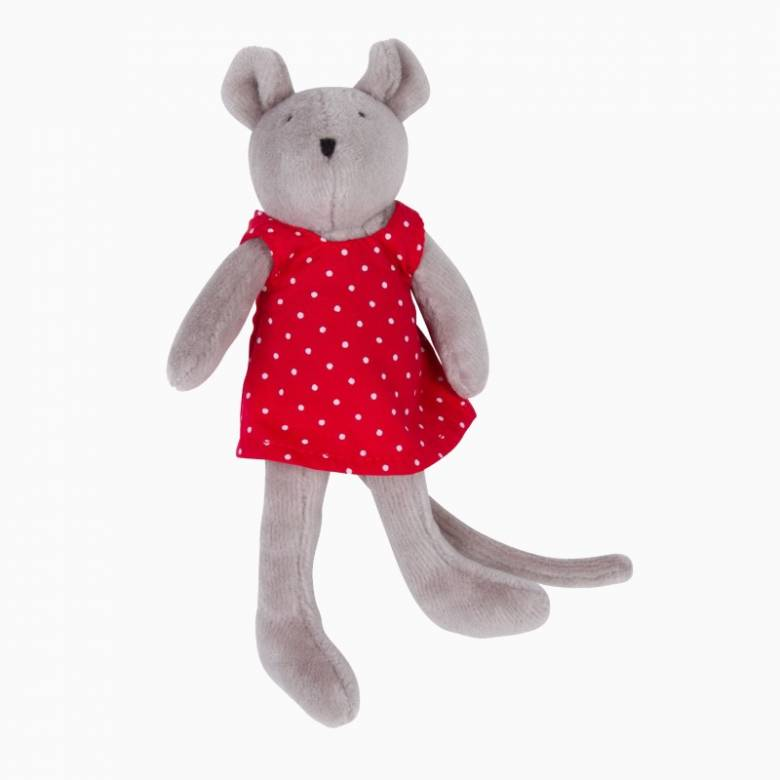 Mini Nini The Mouse Soft Toy 0+
