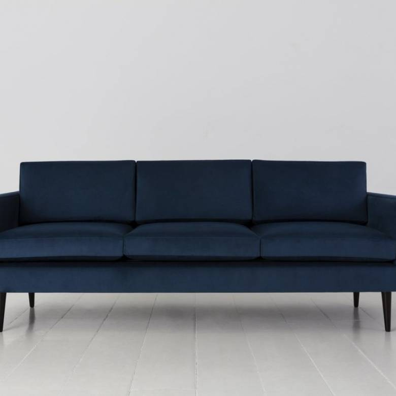 Swyft - Model 01 - 3 Seater Sofa - Velvet Teal