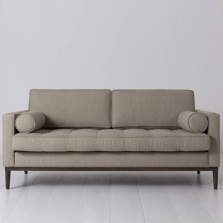 Swyft - Model 02 Linen 2 Seater Sofa - Pumice