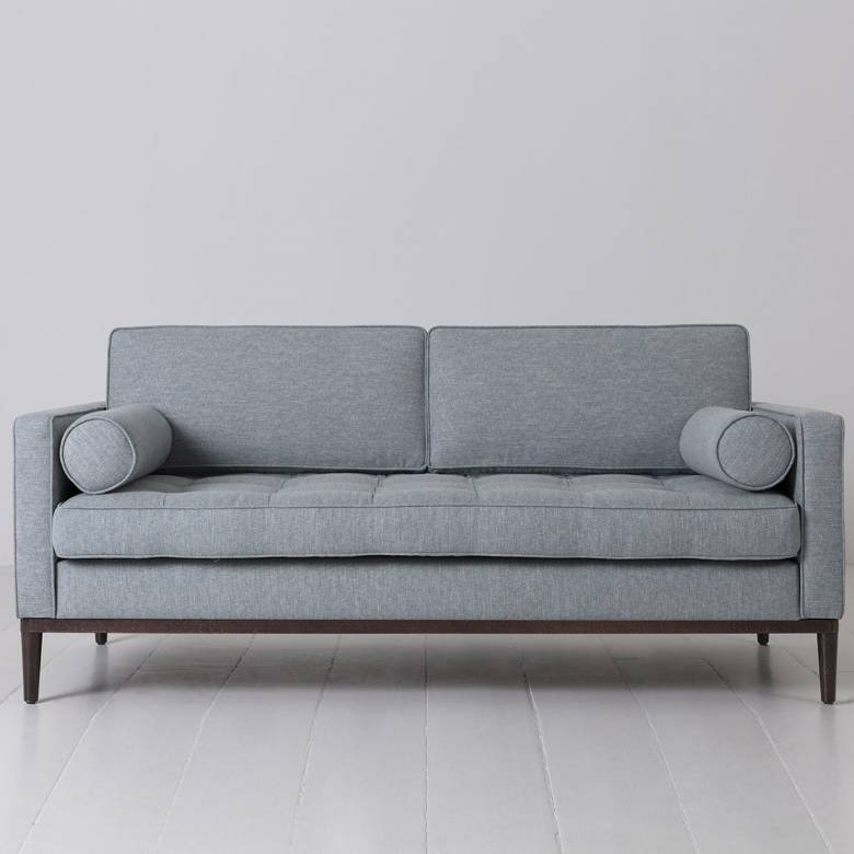 Swyft - Model 02 Linen 2 Seater Sofa - Seaglass