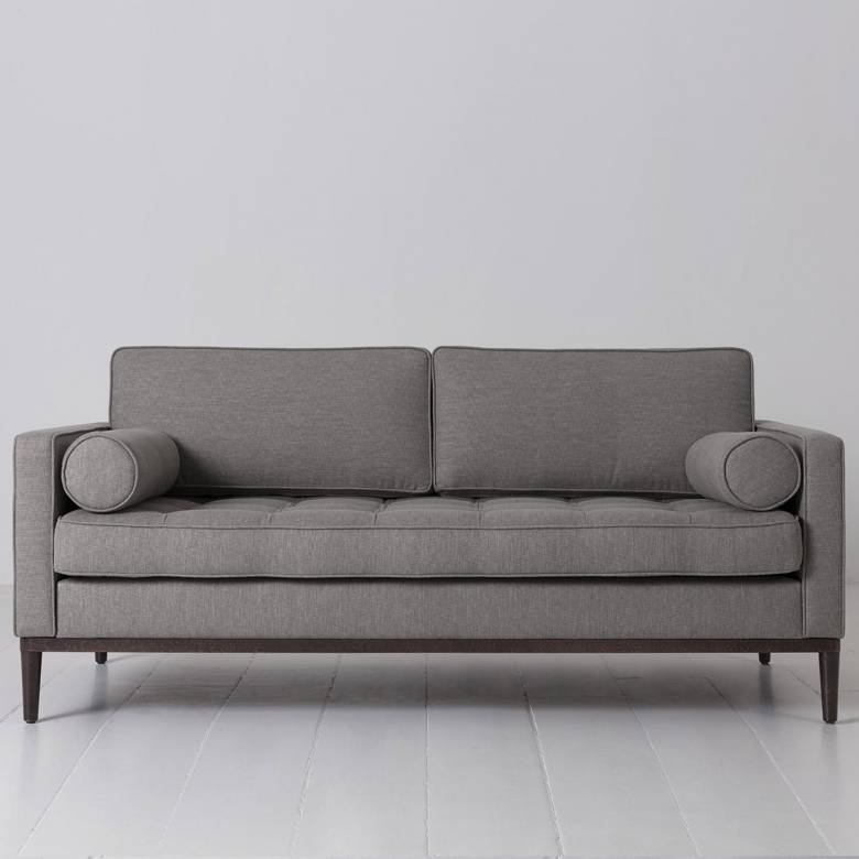 Swyft - Model 02 Linen 2 Seater Sofa - Shadow