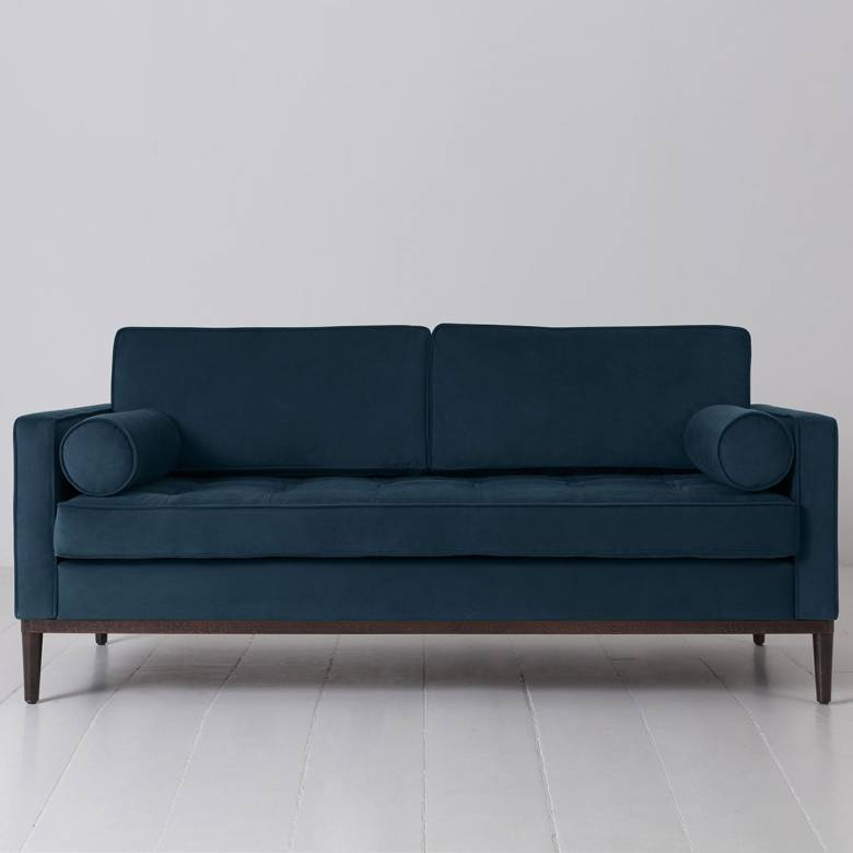 Swyft - Model 02 Velvet 2 Seater Sofa - Teal