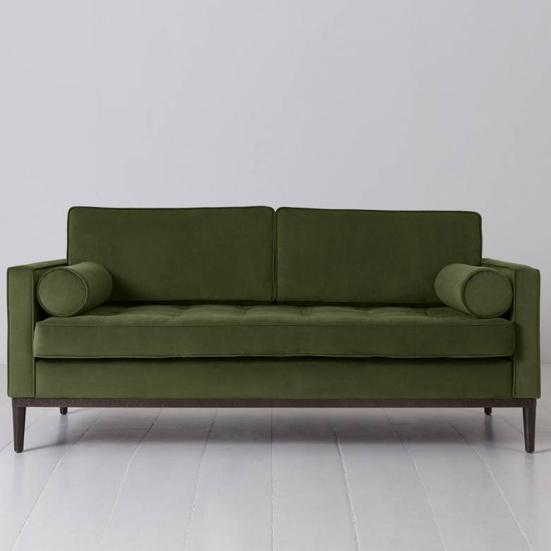 Swyft - Model 02 Velvet 2 Seater Sofa - Vine