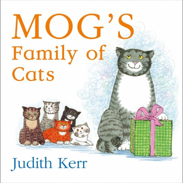 Mog's Family Of Cats - Board Book
