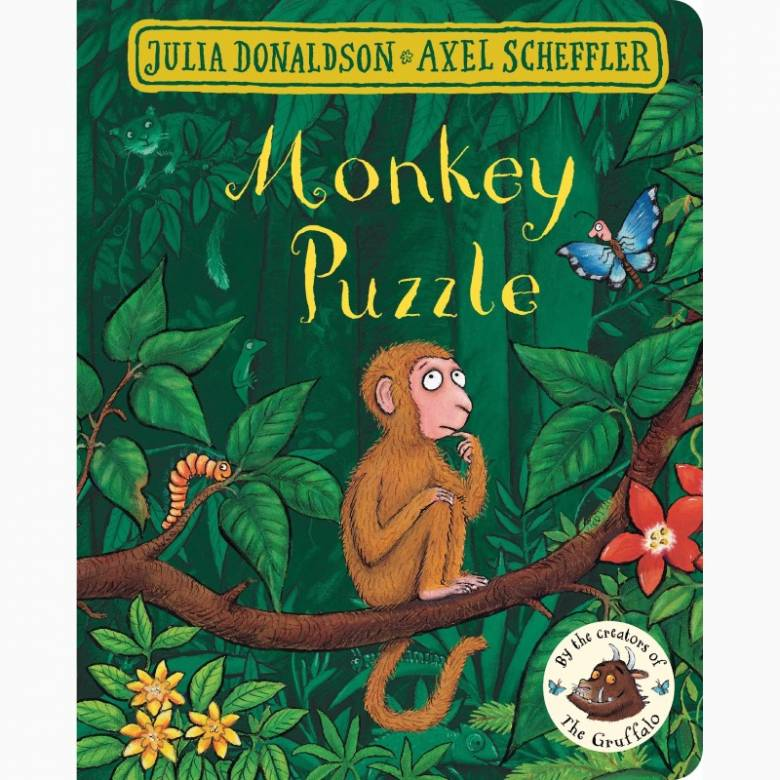 Monkey Puzzle - Board Book