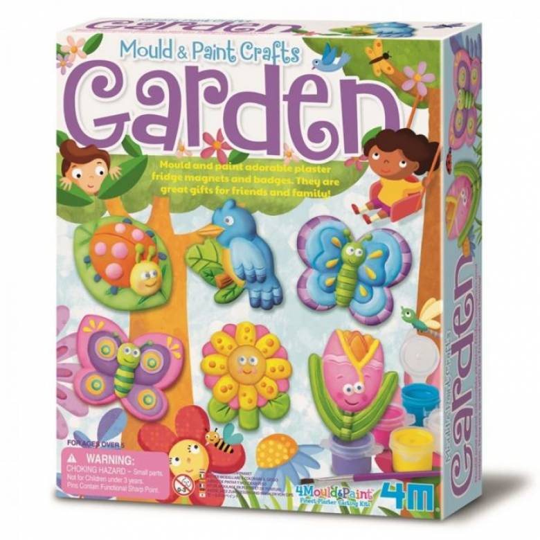 Mould And Paint - Garden Craft Kit 5+