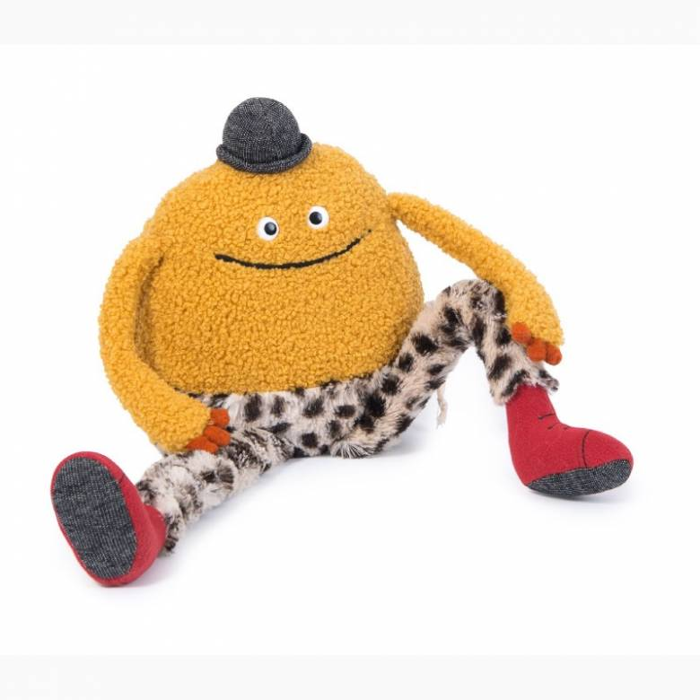 Mouni The Monster With Leopard Print Legs Soft Toy 0+