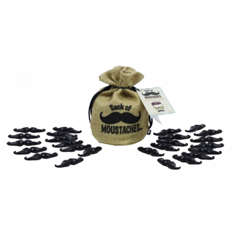 Sack Of Moustaches 8+