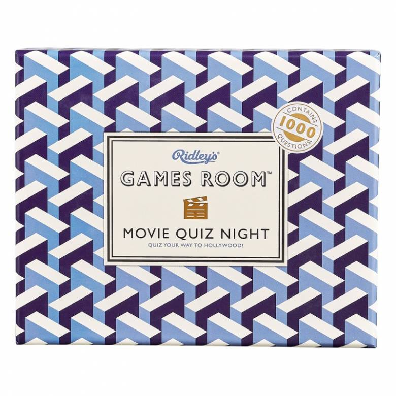 Movie Quiz Night Game In Retro Box