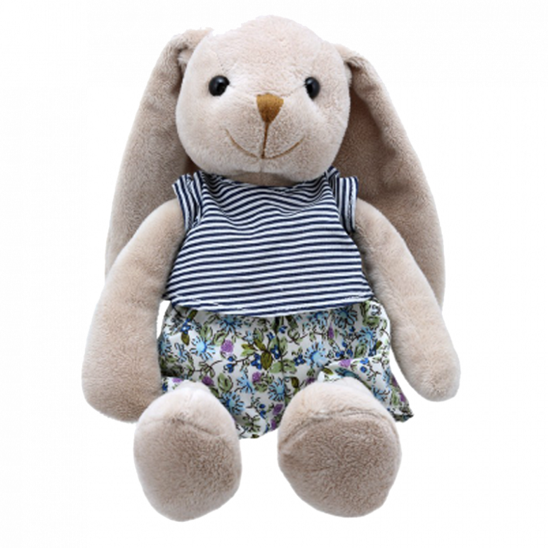 Mr Rabbit - Wilberry Friends Soft Toy 1+