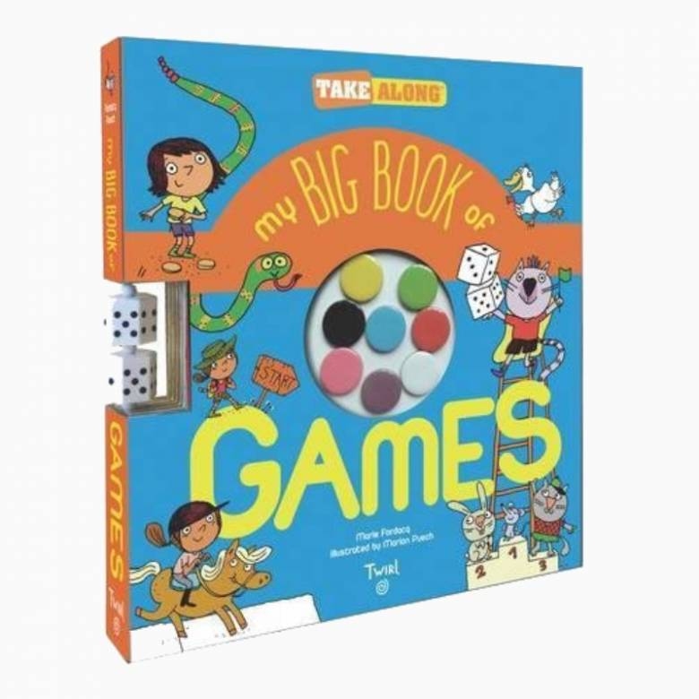 My Big Book of Games - Hardback Book