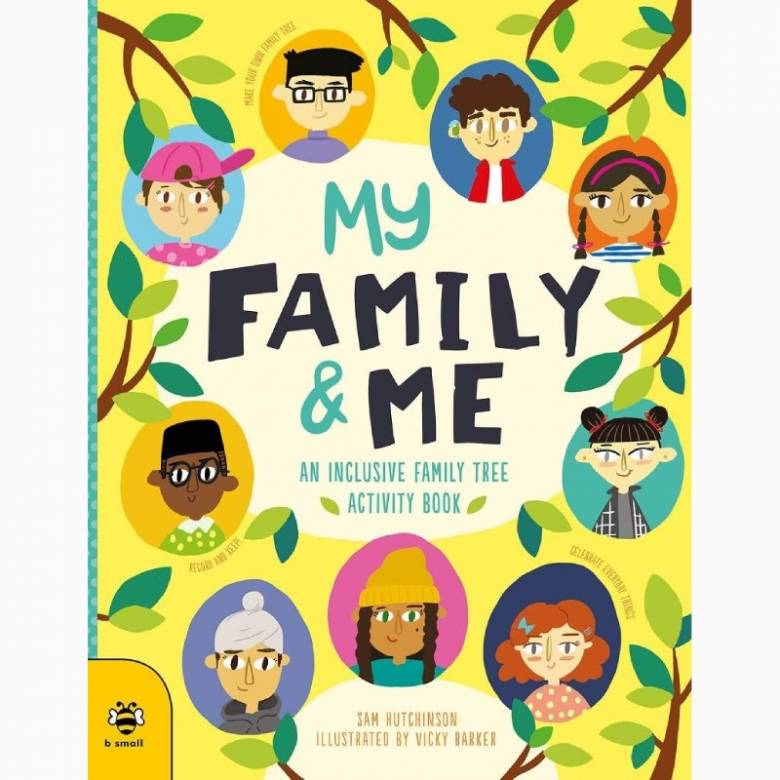My Family & Me: An Inclusive Family Tree Activity Book