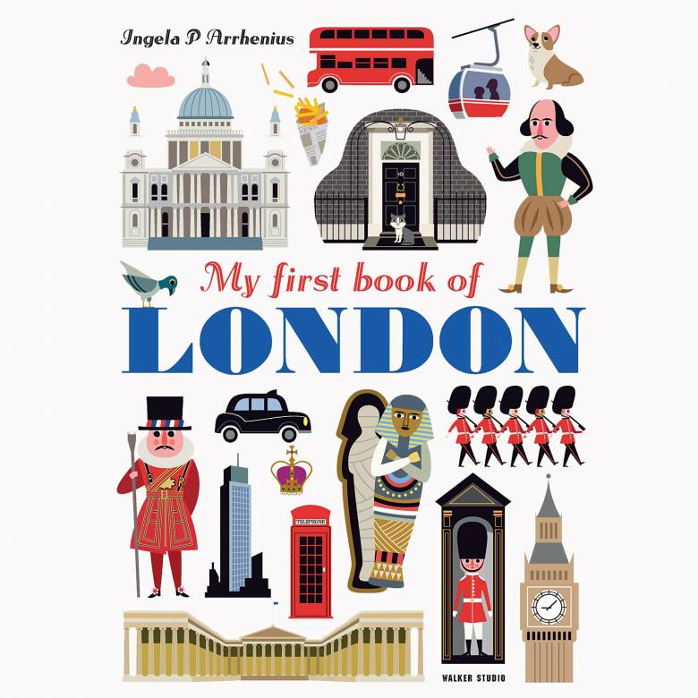 My First Book Of London (Walker) - Hardback Book
