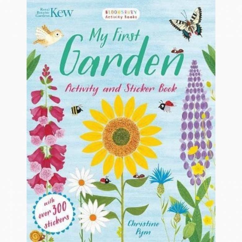 My First Garden Activity And Sticker Book By Kew Gardens