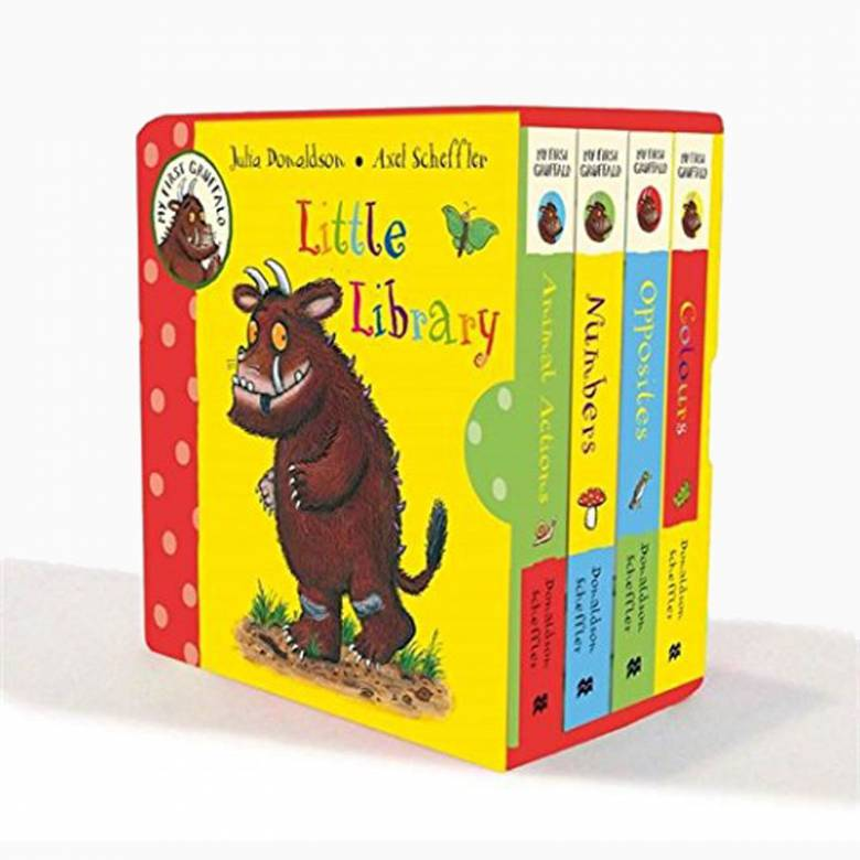 My First Gruffalo Little Library - Board Book Set