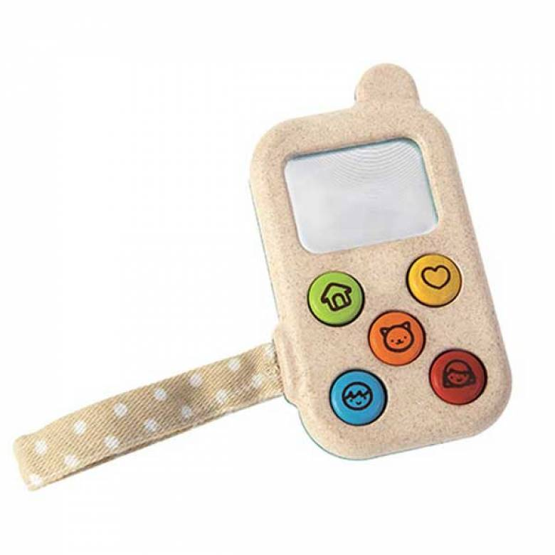 My First Phone Wooden Toy By Plan Toys 1+