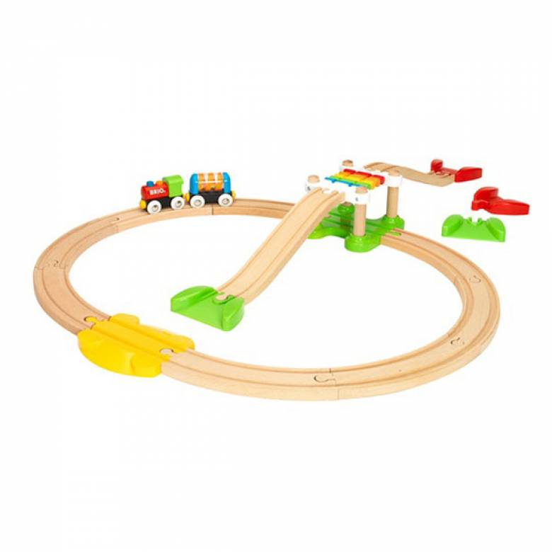 My First Railway Beginner Pack BRIO Wooden Railway Age 1.5+