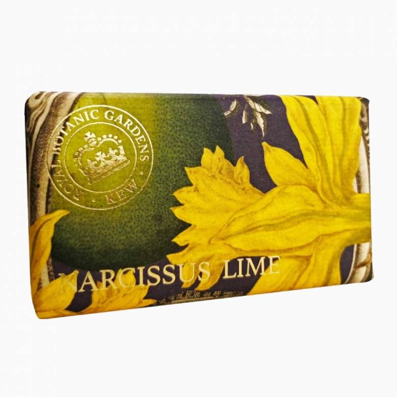 Narcissus Lime Kew Gardens Soap 240g
