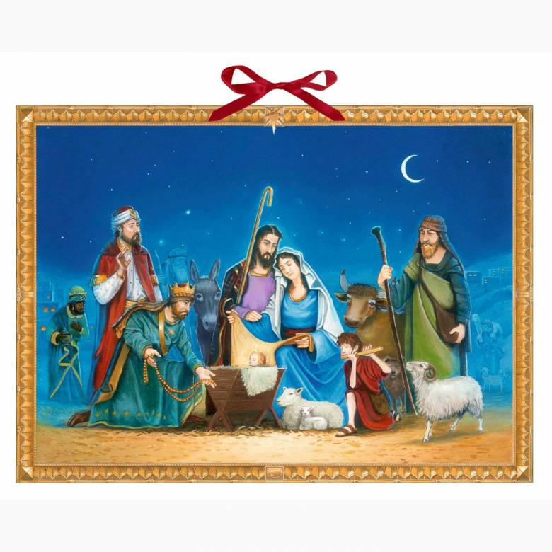 Nativity Story Tizaro Advent Calendar