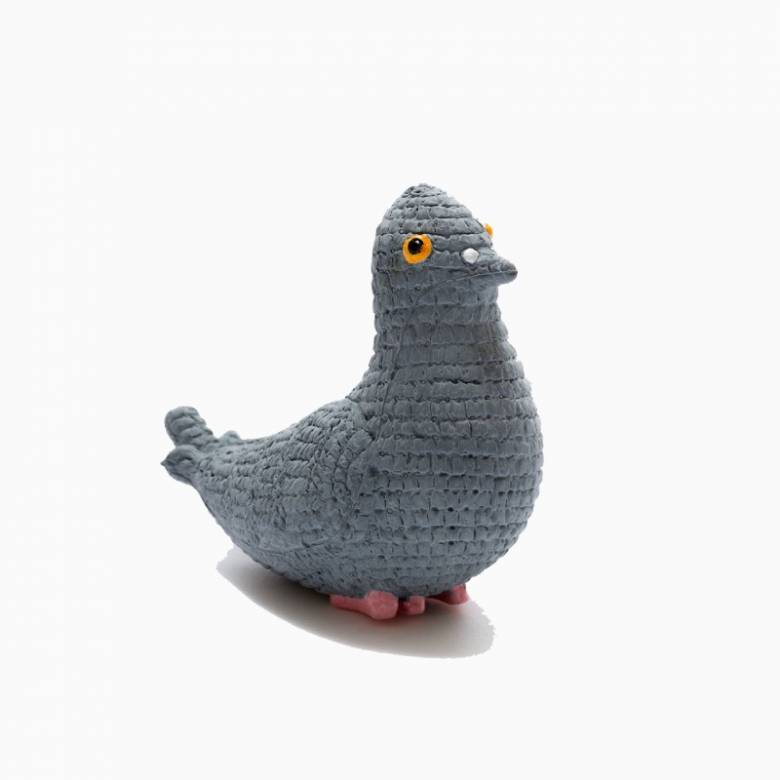 Natural Rubber Pigeon Bath & Teether Toy 0+