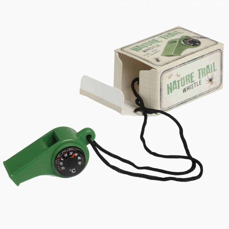 Nature Trail Whistle With Compass 3+