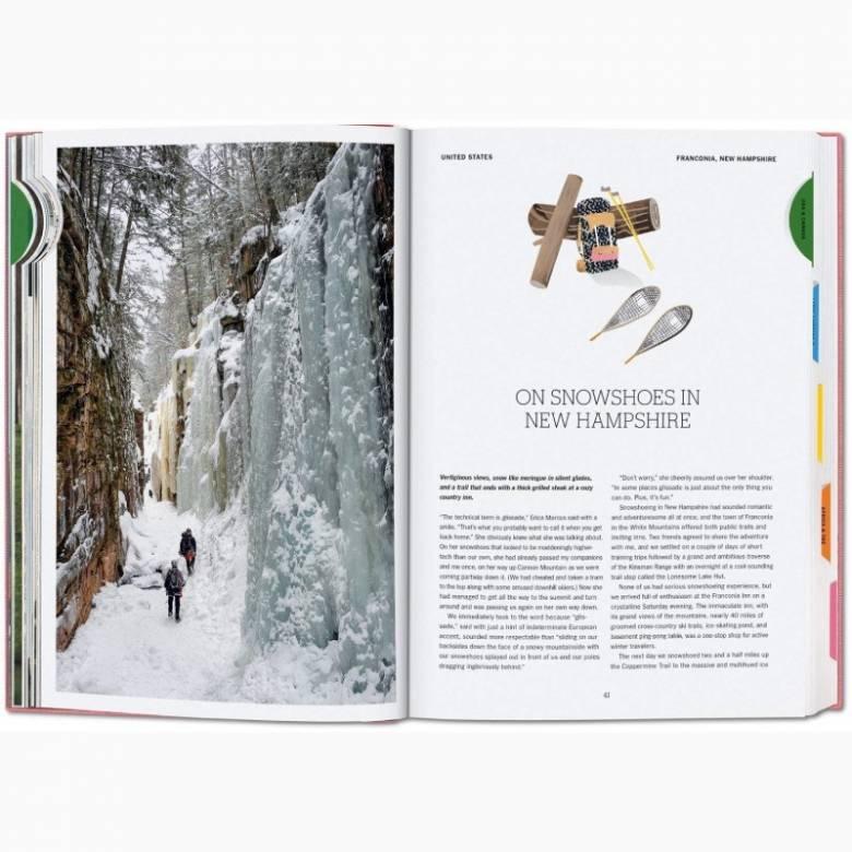 New York Times Explorer: 100 Trips Around The World Book