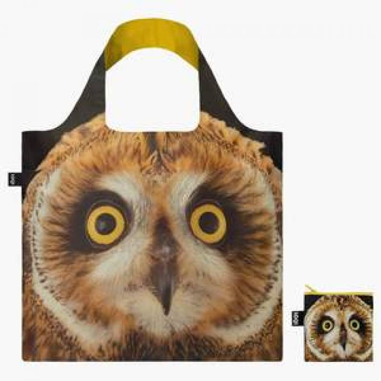 National Geographic Eco Bag SHORT EARED OWL