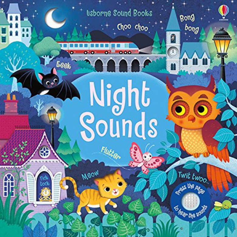 Night Sounds Noisy Book - Hardback Book